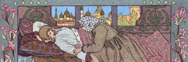 Финист-ясный сокол — русская народная сказка