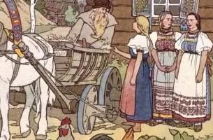 Финист-ясный сокол – русская народная сказка
