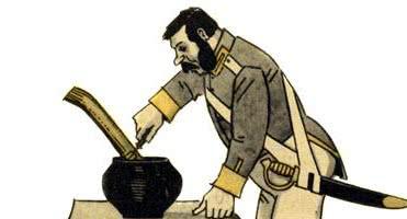 Каша из топора — русская народная сказка