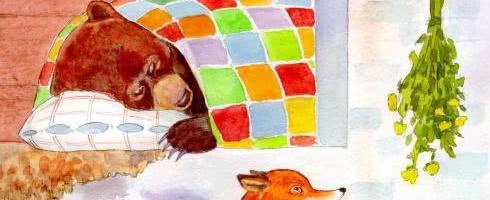 Лиса и медведь — русская народная сказка