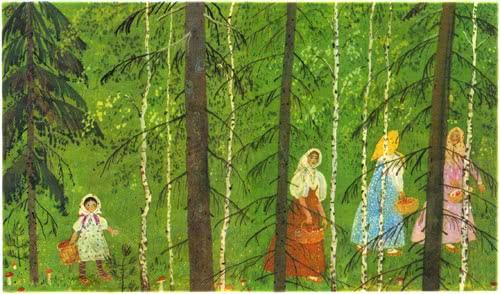 Снегурушка и лиса - русская народная сказка