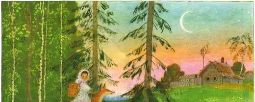 Снегурушка и лиса — русская народная сказка