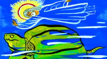 Морской краб, который играл с морем — Редьярд Киплинг