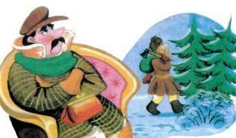 Мужик и барин — русская народная сказка
