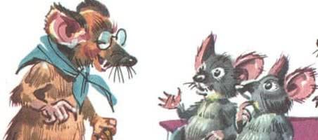 Мышка, которая ела кошек — Джанни Родари