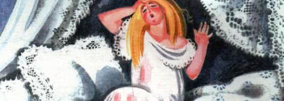 Принцесса на горошине — Ганс Христиан Андерсен