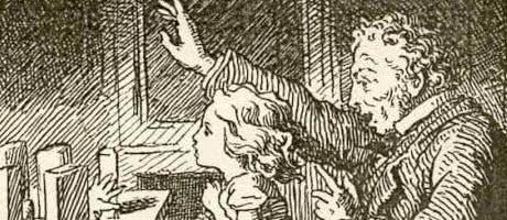В детской — Ганс Христиан Андерсен