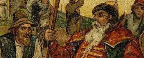 Воевода и мужик — русская народная сказка
