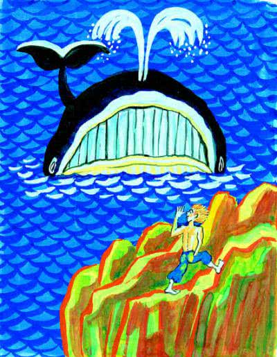 Почему кит ест только мелких рыбок - Редьярд Киплинг