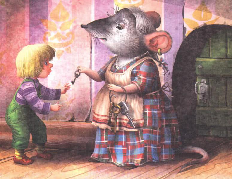 нильс и крыса