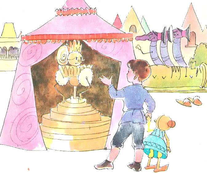 Нарисованные картинки городок в табакерке