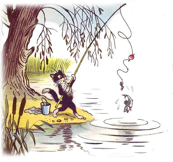 дают корм, сутеев кот рыболов картинки раскраски дефектовка коленвала поможет