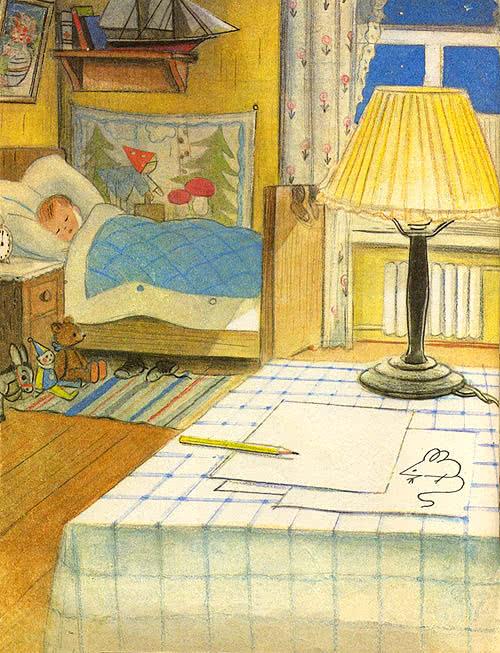 Мышонок и карандаш сказка