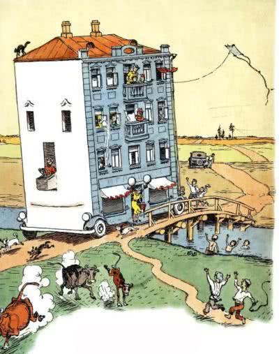 Стихотворение Дом переехал Агнии Барто