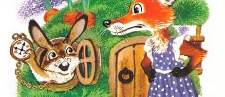 Зайка и лиска — русская народная аудиосказка