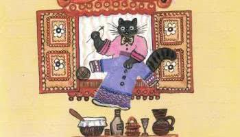 Кошка и курочка — русская народная песенка