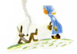 Заяц-бездельник Самуил Маршак