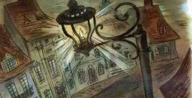 Старый уличный фонарь — аудиосказка Андерсена