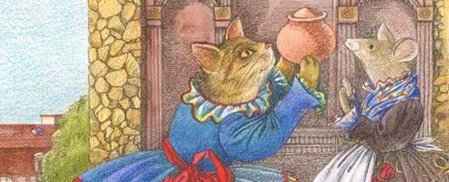 Дружба кошки и мышки — аудиосказка братьев Гримм