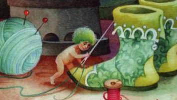 Маленькие человечки — аудиосказка братьев Гримм