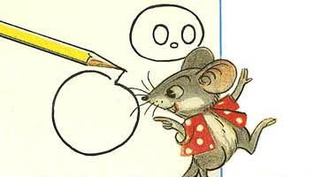 Мышонок и карандаш — аудиосказка Сутеева