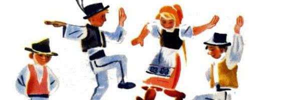 Чешские народные песенки — Самуил Маршак