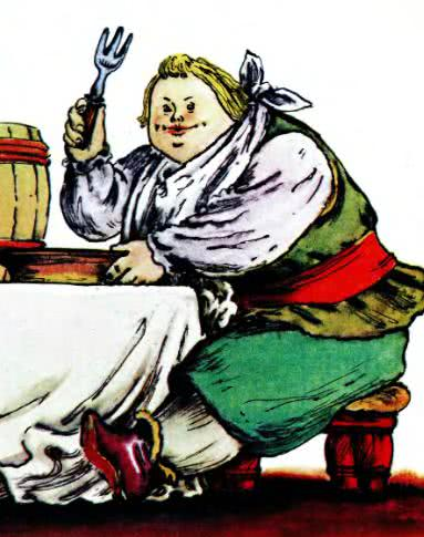робин-бобин маршак