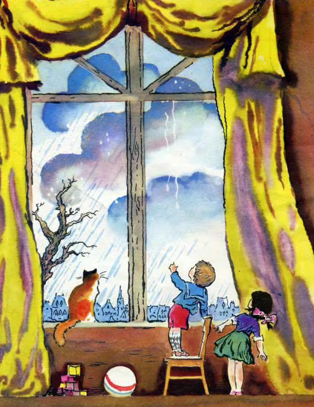 У окна Самуил Маршак