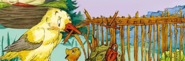 Чайка и черепаха — аудиосказка Биссета