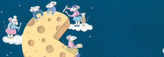 Мыши на луне — аудиосказка Биссета