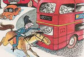 Про полисмена Артура и его коня Гарри — аудиосказка Биссета