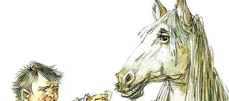 Очень умная лошадь — аудио рассказ Зощенко