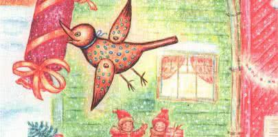 Весёлая кукушка — аудиосказка Линдгрен