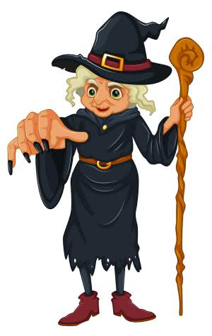 сказки про ведьм