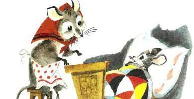 Сказка о глупом мышонке — аудио стихотворение Маршака