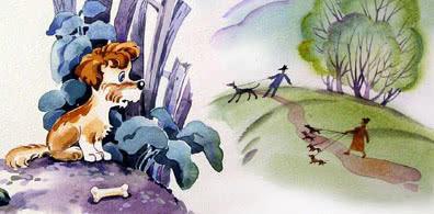Один щенок был одинок — аудио стихотворение Барто
