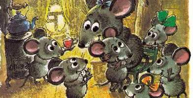Сказка об умном мышонке — аудио стихотворение Маршака
