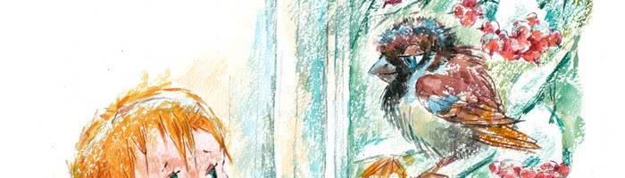 Страшная птица — аудио стихотворение Барто