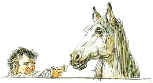 Очень умная лошадь рассказ Зощенко