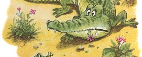Сказка о знаменитом крокодиле и не менее знаменитом лягушонке — Пляцковский М.С.