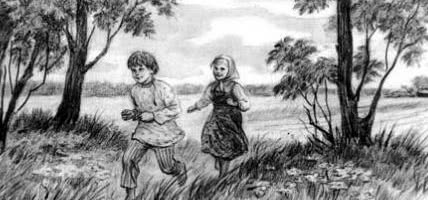 Дети в роще — Ушинский К.Д.