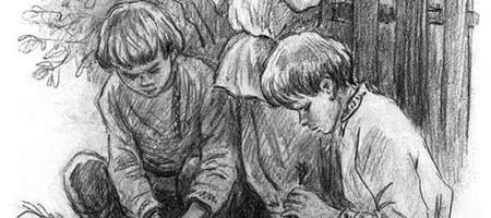 Грядки гвоздики — Ушинский К.Д.