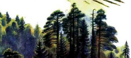 Лес и ручей — Ушинский К.Д.