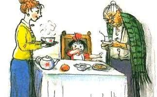 Про девочку, которая плохо кушала — Сергей Михалков