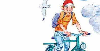 Велосипедист — Сергей Михалков
