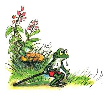 Упрямый лягушонок - Сергей Михалков