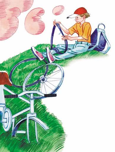 Велосипедист - Сергей Михалков