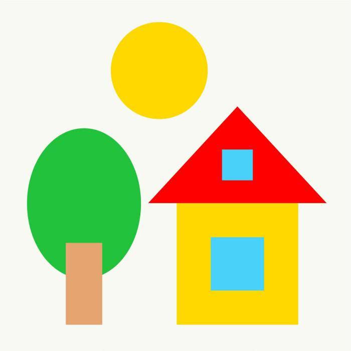 Аппликации из цветной бумаги