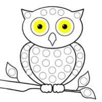 35 шаблонов для пальчикового рисования
