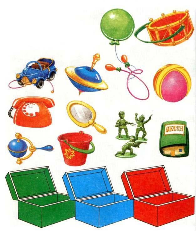 Игры-смекалки для детей 2-3 лет